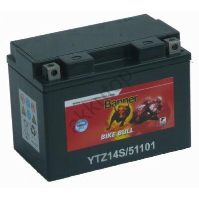 Banner Bike Bull GEL AGM+SLA 12 V 11 Ah  (GTZ14-4 ) akkumulátor