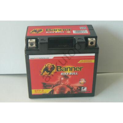 Banner Bike Bull GEL AGM+SLA 12 V 6 Ah  ( GT7-3 ) akkumulátor