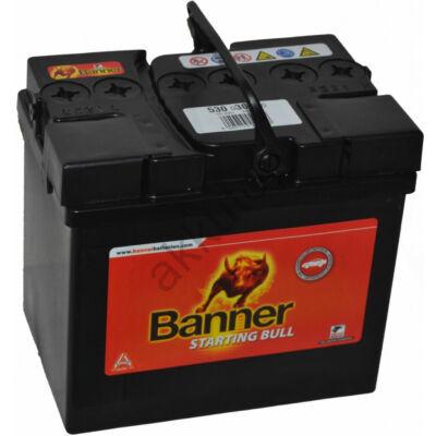 Banner Starting Bull 30 Ah jobb+ 53030 akkumulátor