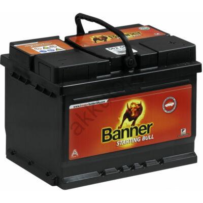 Banner Starting Bull 60 Ah jobb+ 56009 akkumulátor
