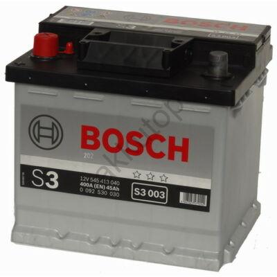 Bosch S3 45 Ah bal+ 0092S30030