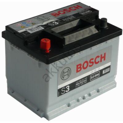 Bosch S3 56 Ah bal+ 0092S30060 akkumulátor