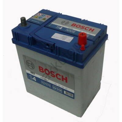Bosch S4 40 Ah jobb+ (vékony sarus)