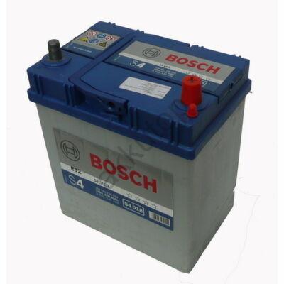 Bosch S4 40 Ah jobb+ (vékony sarus) 0092S40180