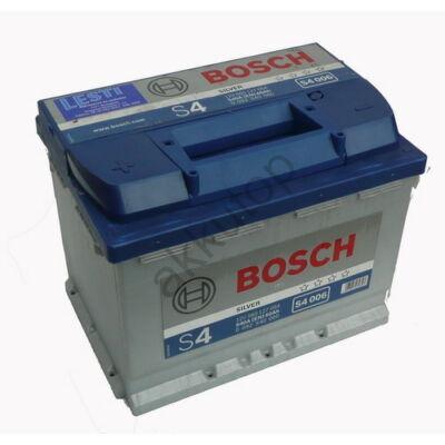 Bosch S4 60 Ah bal+ 0092S40060 akkumulátor