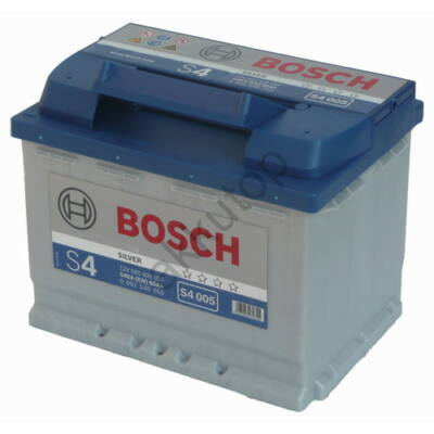 Bosch S4 60 Ah jobb+ 0092S40050 akkumulátor