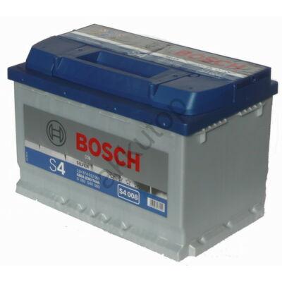 Bosch S4 74 Ah jobb+ 0092S40080
