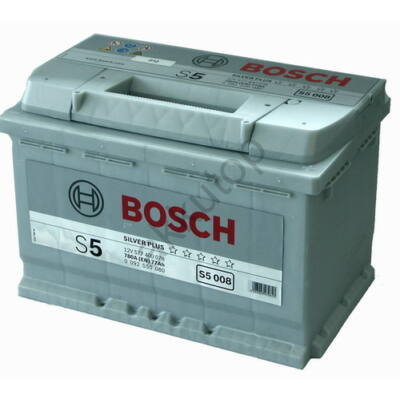 Bosch S5 77 Ah jobb+ 0092S50080 akkumulátor