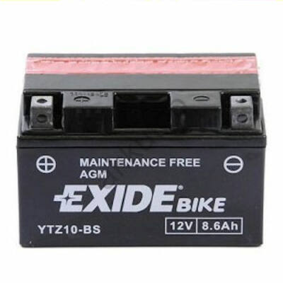 Exide 12V 8,6 Ah AGM bal+ ( YTZ10-BS )