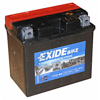 Exide 12V 6 Ah AGM jobb+ ( YTZ7-BS ) akkumulátor