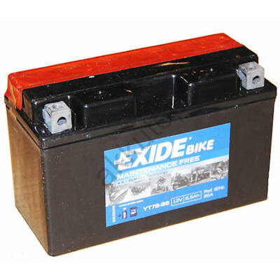 Exide 12V 6,5 Ah AGM bal+ ( YT7B-BS ) akkumulátor