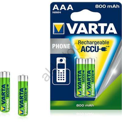 Varta Phone tölthető mikro elem 800 mAh