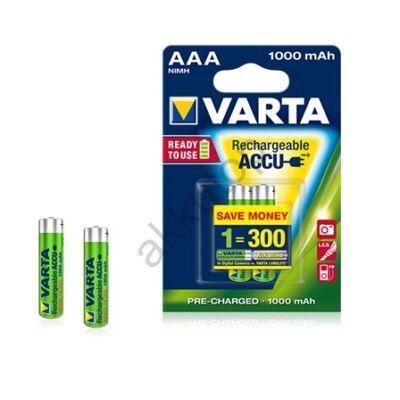Varta Ready to Use tölthető mikro elem 1000 mAh