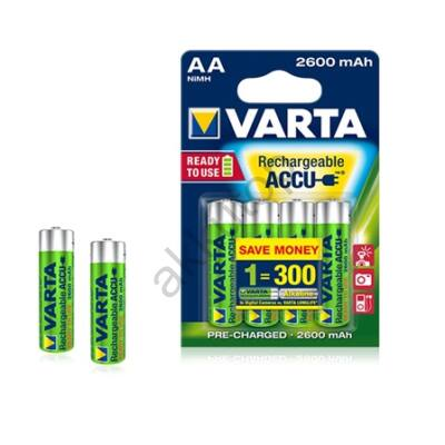 Varta Ready to Use tölthető ceruza elem 2600 mAh