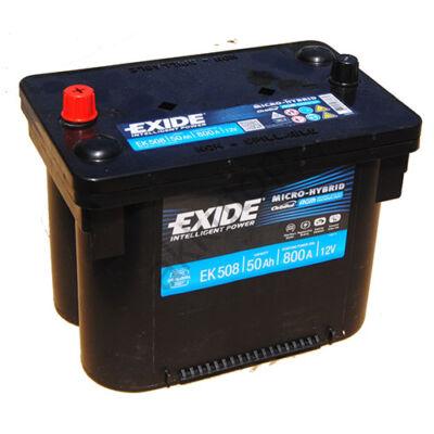 EXIDE Maxxima 50 Ah bal+ EK508 akkumulátor