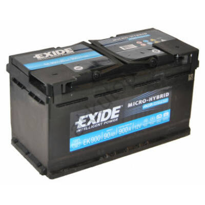 EXIDE AGM 105 Ah jobb+ EK1050