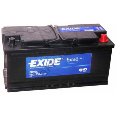 EXIDE Excell 110 Ah jobb+ EB1100 akkumulátor