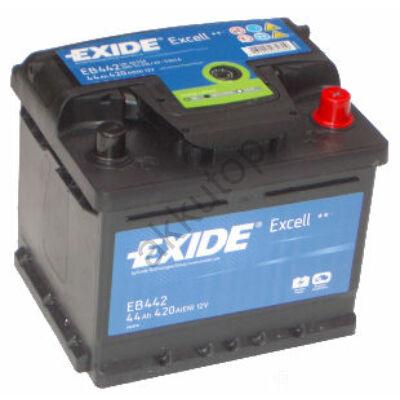 EXIDE Excell 44 Ah jobb+ EB442