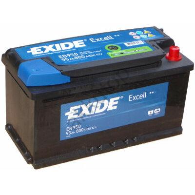 EXIDE Excell 95 Ah jobb+ EB950