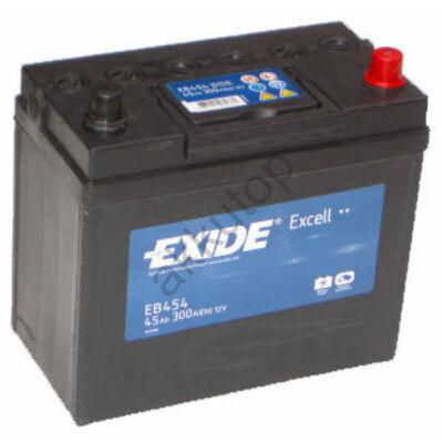 EXIDE Excell 45 Ah jobb+ EB454 akkumulátor