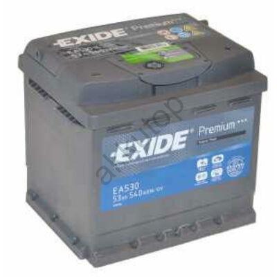 EXIDE Premium 53 Ah jobb+ EA530