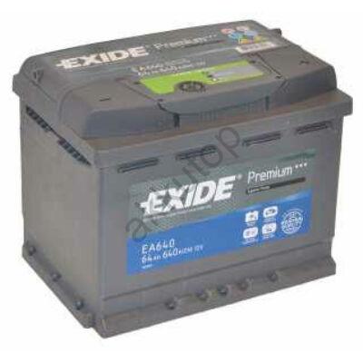 EXIDE Premium 64 Ah jobb +