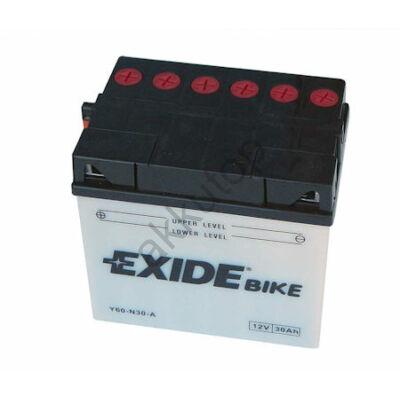 Exide 12V 30 Ah bal+ ( Y60-N30-A ) akkumulátor