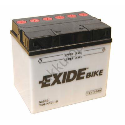 Exide 12V 30 Ah jobb+ ( Y60-N30L-B ) akkumulátor