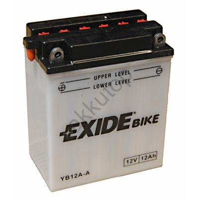 Exide 12V 12 Ah bal+ ( YB12A-A ) akkumulátor