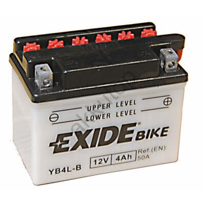 Exide 12V 4 Ah jobb+ ( YB4L-B ) akkumulátor