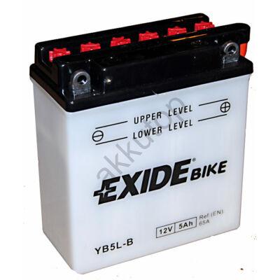 Exide 12V 5 Ah jobb+ ( YB5L-B ) akkumulátor