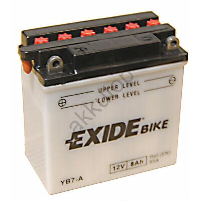 Exide 12V 8 Ah bal+ ( YB7-A ) akkumulátor