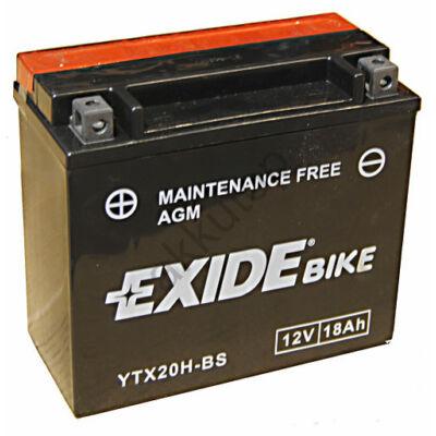 Exide 12V 18 Ah AGM bal+ ( YTX20H-BS ) akkumulátor