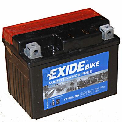 Exide 12V 3 Ah AGM jobb+ ( YTX4L-BS ) akkumulátor
