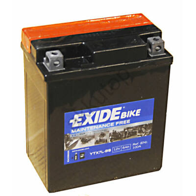 Exide 12V 6 Ah AGM jobb+ ( YTX7L-BS ) akkumulátor
