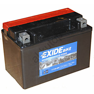 Exide 12V 8 Ah AGM bal+ ( YTX9-BS ) akkumulátor