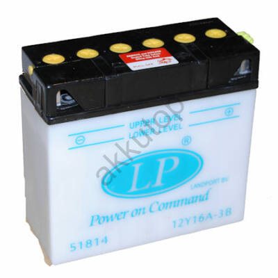 Landport 12V 19 Ah jobb+ ( 12Y16A-3B ) akkumulátor