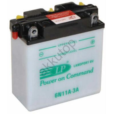 Landport 6V 11 Ah jobb+ ( 6N11A-3A ) akkumulátor