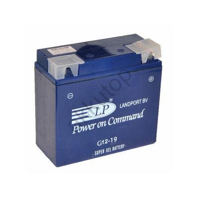 Landport 12V 19 Ah AGM+SLA jobb+ ( G12-19 ) akkumulátor