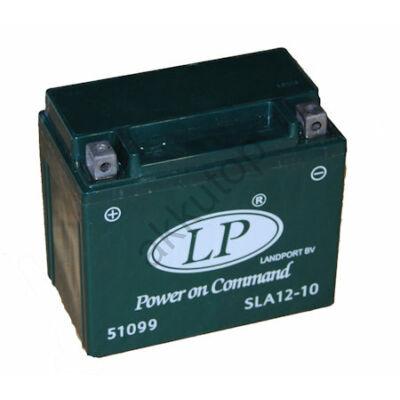 Landport 12V 10 Ah AGM+SLA bal+ ( YTX12-4, SLA 12-10 ) akkumulátor