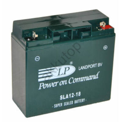 Landport 12V 18 Ah AGM+SLA jobb+ ( SLA12-18 )