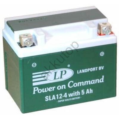 Landport 12V 5 Ah AGM+SLA jobb+ ( SLA 12-4W5, SLA12-4S ) akkumulátor