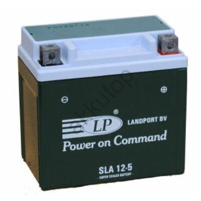 Landport 12V 5 Ah AGM+SLA jobb+ ( SLA12-5 )