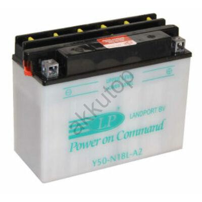 Landport 12V 20 Ah jobb+ ( Y50-N18L-A2 ) akkumulátor