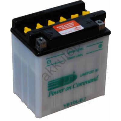 Landport 12V 11 Ah jobb+ ( YB10L-B2 ) akkumulátor
