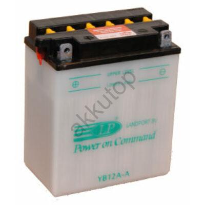 Landport 12V 12 Ah bal+ ( YB12A-A ) akkumulátor