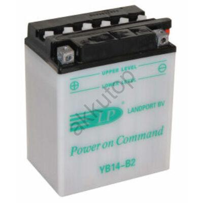 Landport 12V 14 Ah bal+ ( YB14-B2 ) akkumulátor