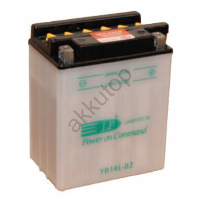 Landport 12V 14 Ah jobb+ ( YB14L-A2 ) akkumulátor