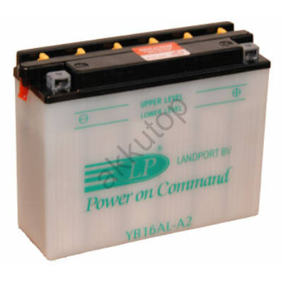 Landport 12V 16 Ah jobb+ ( YB16AL-A2 ) akkumulátor