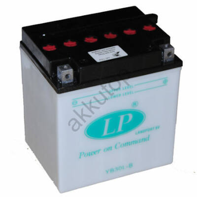 Landport 12V 30 Ah jobb+ ( YB30L-B ) akkumulátor